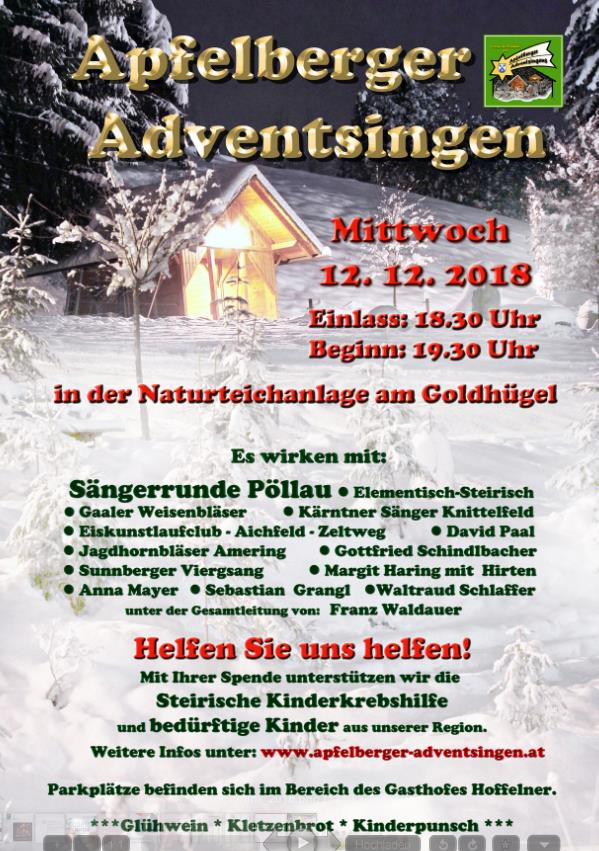 Apfelberger Adventsingen